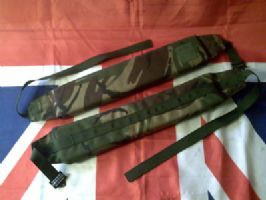 #NEW# ARMY MILITARY GREEN CAMO PADDED SHOULDER STRAPS
